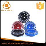 Колесо чашки профессионального диаманта меля для каменного процесса