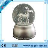 Глобус снежка нот СИД сувенира смолаы Polyresin (HG-003)
