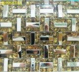Mattonelle domestiche della parete del mosaico di vetro Tempered della decorazione (JJ1835)