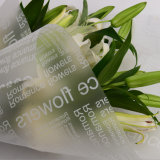 Papier d'emballage estampé par OPP de fleur