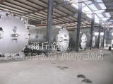 Tire Waste Pyrolysis Machine com CE, GV, ISO e National Patent
