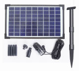 Fountainのための10W Solar Brushless Pump Kit