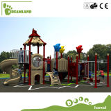 China Plastic Preschool Big Children Used Outdoor Playground