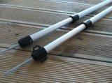 "90.6 "" Zoll-Längen-justierbare kampierende Aluminiumplane/Zelt-Verschluss Pole"