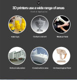 Легко соберите набор DIY принтера Prusa I3 3D машины принтера Anet 3D с видеоим преподавательства