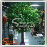 Árvore Banyan artificial feita de fibra e PE
