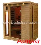 Sauna-Raum-bewegliche Sauna des weiten Infrarot-2016 für 3 Leute (SEK-CP3)
