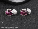92933 de Nagels van de Oorring van de Juwelen van Zircon van het Oog van de manier met Kristallen van Juwelen Swarovski