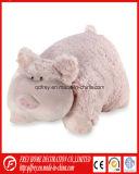 Palier chaud mignon d'animal de jouet de crabot de peluche de modèle