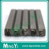 Perfurador contínuo feito sob encomenda do carboneto do quadrado da letra do alfabeto