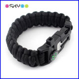 Bracelet de Paracord 550 de survie de sports en plein air
