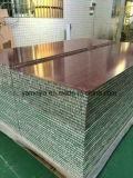 Los paneles de pared ligeros incombustibles decorativos del panal de los paneles de pared