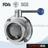 Stainless Steel Sanitary Welded/Bend Butterfly Valve (JN-BV1013)