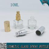 botella cosmética de cristal clara hexagonal de 10ml Sexangular con el rociador del perfume