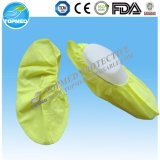Cubierta disponible del zapato del Nonwoven PP+CPE, cubiertas antideslizantes del zapato