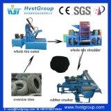 Gomma residua completamente automatica che ricicla la linea di produzione di gomma della polvere della macchina