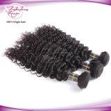 熱い販売のインドの毛の自然で深い波の毛の織り方