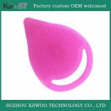 Borracha de silicone Customized Facial Brushes Silicone Face Cleaner Wash