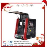 Máquina portátil da marcação do laser 20W da fibra da folha/tubulação de metal para a marcação da cor e do preto