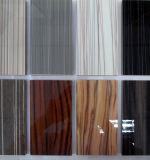 Película de madeira decorativa da grão do PVC