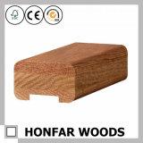 Barandilla de madera sólida de la decoración interior para el hotel