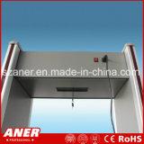 Detector de metais de porta alta sensibilidade da China fabricante com 12zones