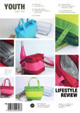 600d Assorted Colors Alumínio Film Handle Coolerbag