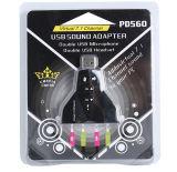 USB 7.1のサウンドカード