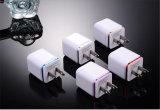 iPhone를 위한 이동할 수 있는 부속품 2 USB 여행 접합기 벽 충전기