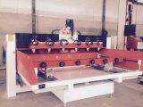 8 Mittellinie der Kopf-4 Dreh-CNC-Fräser