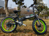 schwanzloses motorisiertes kleiner fetter Gummireifen-elektrisches Fahrrad des Falz-250W