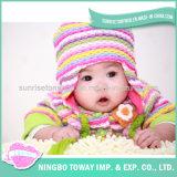 Chapéus chineses por atacado feitos malha acrílicos do Crochet do bebê de China
