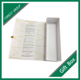 Rectángulo de papel de la cartulina magnética de la insignia del sellado de oro