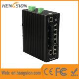 Interruptor industrial controlado da rede Ethernet da fibra 5 portuária com SFP