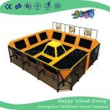 Trampolín Trampolín grande para juegos y Trampolín Park (HF-19704)