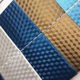 袋を作るための立方体デザインPUの革