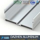 Perfil de aluminio de aluminio para el mercado de 6063 Suráfrica