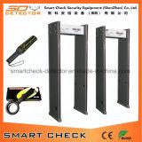 Buena caminata del precio con zona del detector de metales del marco de puerta del detector de metales 6