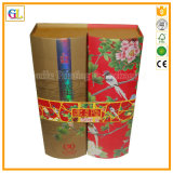 주문을 받아서 만들어진 선물 포장지 상자 또는 포도주 상자 또는 보석함