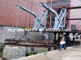 Tipo pescante costa afuera del brazo del Luffing de la gravedad del pescante de la plataforma de la nave del pescante para el bote salvavidas incluido