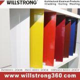 Abnehmer konzipierte zusammengesetzte Aluminiumwand für Innenraum und Äußeres