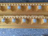 карниз полиуретана 2.4m высекая отливая в форму для домашнего декора