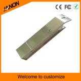 Movimentação dourada do flash do USB do metal da vara do USB do abridor de frasco