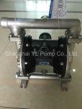 低圧の標準空気によって作動させるダイヤフラムの泥ポンプ