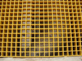 Grating moldado coberto superior do painel de FRP
