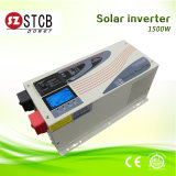 Der Qualitäts-1500W LCD Solarinverter Bildschirmanzeige-Sinus-der Wellen-DC/AC