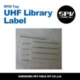 Etiqueta pasiva ISO18000-6c de la biblioteca de la frecuencia ultraelevada del extranjero H3 de RFID