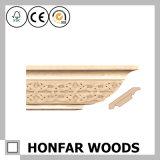 Coroa moldando implorada madeira que molda para a decoração do hotel