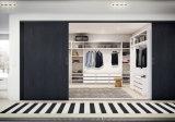 Schlafzimmer-Schrank-Melamin-hölzerner Garderoben-Weg im Wandschrank