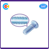 Acier au carbone / 4.8 / 8.8 / 10.9 Barre d'extension galvanisée Hexagon Button / Round Head Screw